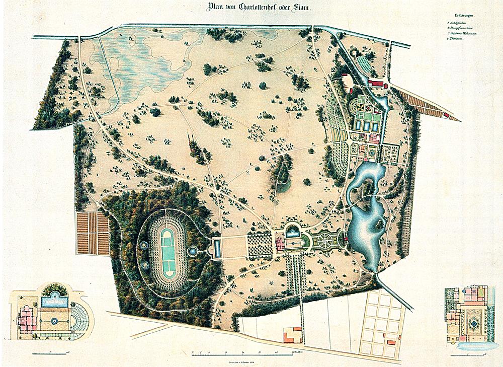 Schloss und park charlottenhof ein arkadien for Architektur master berlin