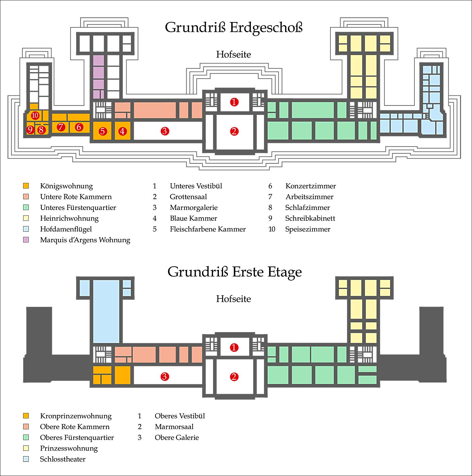 das neue palais pomp ser schlussakkord des barock. Black Bedroom Furniture Sets. Home Design Ideas